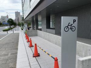 自転車用屋外駐輪場