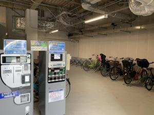 自転車用屋内駐輪場
