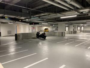 二輪車用駐車場
